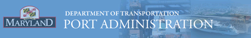 Maryland Port Administration - Department of Transportation